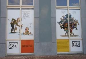 Oli expose à Charleroi Sud