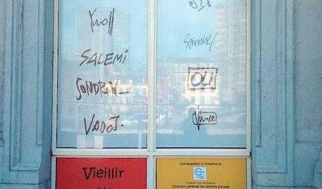 Oli expose à la gare de Charleroi-Sud