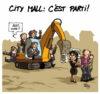 Les dessins de mai dans La Meuse Verviers !