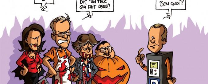 Les dessins d'Oli d'automne pour La Meuse – Verviers !