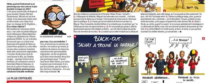Les meilleurs caricatures d'Oli pour La Meuse
