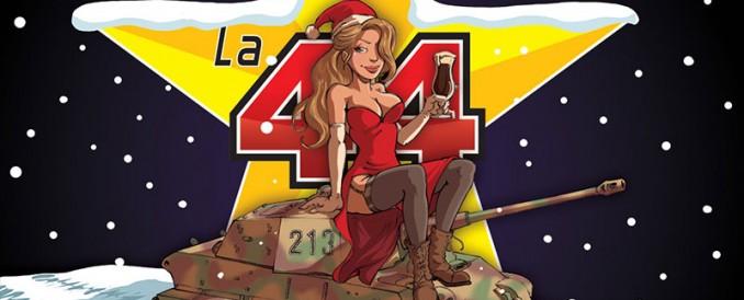 L'étiquette de la bière de La Gleize, La 44 !