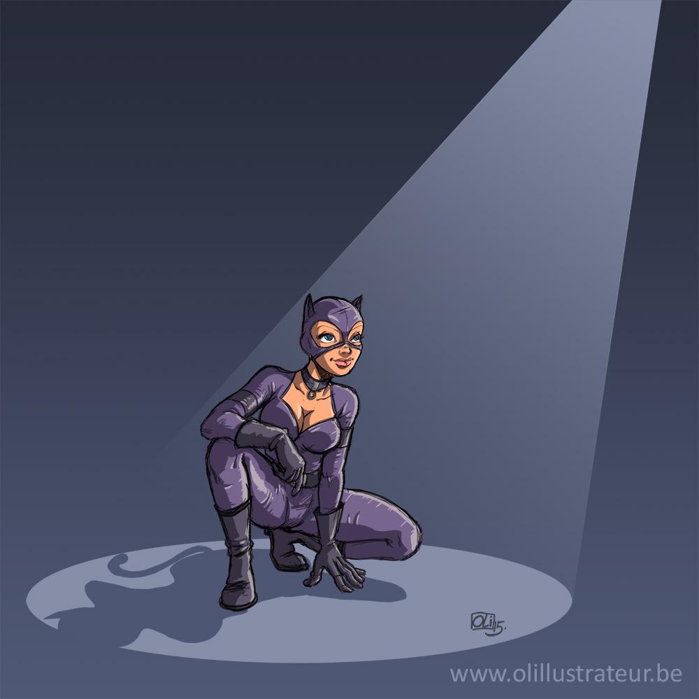 Oli-Catwoman