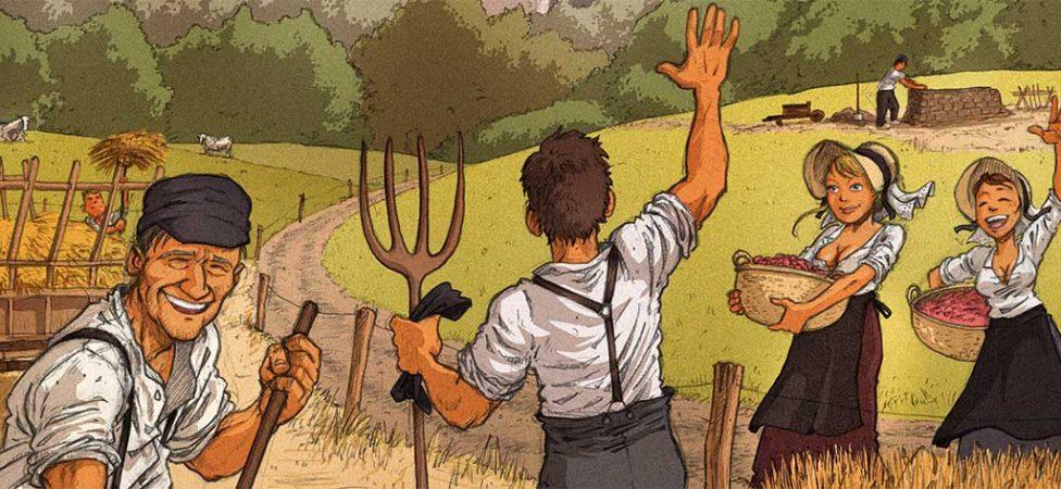Affiche des Vieux Métiers de Sart