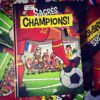 Sacrés Champions ! le 2e recueil de dessins de presse d'Oli !