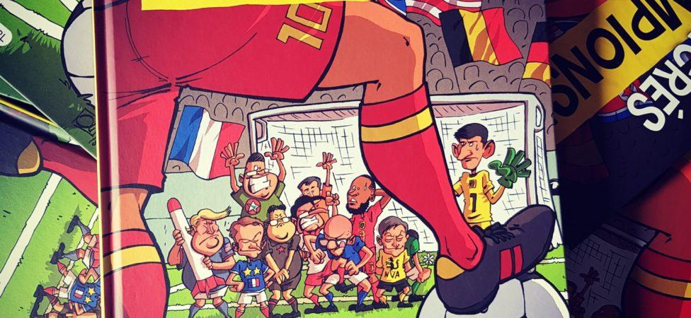 Sacrés Champions ! le 2e recueil de dessins de presse d