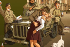 Spa à l'heure US : la nouvelle BD historique